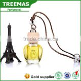 2016 New product french hanging car air fresheners wholesale/car perfume elegant bottle of vegetable oil
