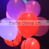 Advertising Led Balloons, Light Shining/ Flying Party Balloons With 12 Inch                                                                         Quality Choice