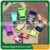 Wholesale plastic side release buckle for bag, Plastic side release buckle for backpacks