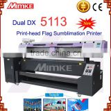 1.8m fabric cloth banner direct printing dye Sublimation printer