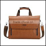 17292016 new men's PU handbag business version of the cross vertical version of a computer bag briefcase on behalf of