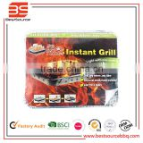 instant grill disposable grill pan Hot New Arrival BBQ Tools Grill Pan Heat Resistant Bakeware for Sale