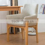 Beech solid wood dining chair HLM-4013