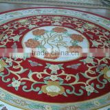Handknotted decorative coverings handmade floor rugs with hand tufted modern design carpet