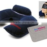 H5100 Double Comfort Travel Pillow (Inflatable) ( promotional gift, corporate gift, premium gift, souvenir )