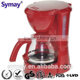 Automatic Coffee Maker with swing-out funnel, with permanent filter 0.75L 6 cups 120V 220-240V 650W