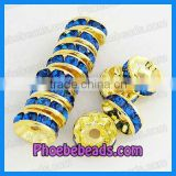 Wholesale Rhinestone Spacer Beads For Basketball Wives Earrings (RRS-A008B)