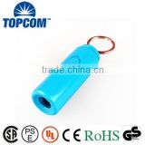 Mini USB Recharging Flashlight Mini Torch Flashlight Plastic Mini Torch with Logo                                                                         Quality Choice