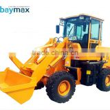 Electric skid steer muck loader