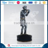 Customized Metal Appearance Polyresin Resin Pugilism Boxing Trophy Cup