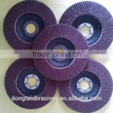 Brown Aluminium oxide Abrasive and Flat-Shaped Shape abrasive grinding wheel flap disc