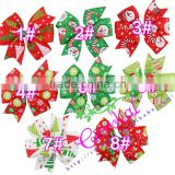 Yiwu Codial Factory High Quality Christmas Decoration Snowflake Bow,Fancy Bow, Ribbon Bows