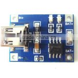 Lithium Battery Charging Board Charger Ultra Small Module 4.5V-5.5V Mini USB 1A