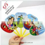 promotional most appropriate summer gifts cartoon cheap hand held folding fan                                                                         Quality Choice