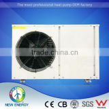 South American Market heat pump manufacturer air to water heat exchanger with fan factory
