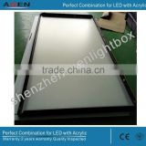 2400x1200mm Slim LED Snap Frame Profile Snap Frame Light Box Snap Photo Frame Light Box Thin LED Poster
