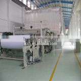 Shandong Xinhe machinery recycled paper,wood,bamboo,bagasse High Grade Cultural paper production line