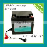 24v/29.2v 20ah lithium iron phosphate batteries pack(Australia hot sale)with solar controller for small solar system
