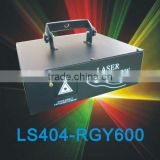 RGY three colors by scanner DMX laser light for 600mW