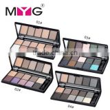MYG 10 colors eyeshadow palette smoky eyes makeup matte eyeshadow palette