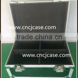 Black huge storage carrying hard case heavy duty aluminum tool box