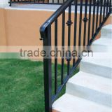 High-quality outdoor wrought iron stair railings made in China