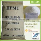 Hydroxy propyl methyl cellulose HPMC MHPC as dispersant in the polyvinyl chloride PVC production
