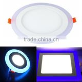 18W Square LED Blue Light Recessed Ceiling Panel Down Lights