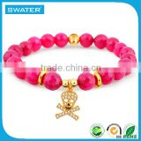 Wholesale Fashion Jewelry Red Stone Bracelet