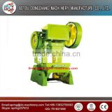C frame general open front and inclinable mechanical punch power press used power press machine