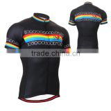 Custom sublimation short sleeves cycling jersey