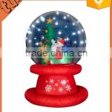 Christmas Decoration Inflatable Snow Globe Christmas Inflatable Snow Globe With Santa Claus