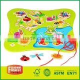 Lacing the Garden Lacing Toy Educational