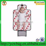 Wholesale mummy bag eco soft material waterproof rubber baby diaper changing mat