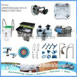 Swimming pool equipment sand filter ,pump , cleanning accessories vacuum cleaners,ladder ,skimmer