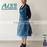 High Quality Industry PE Apron Protection Clothes disposable kitchen plastic aprons