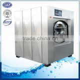 Full suspension industrial shock structure washer