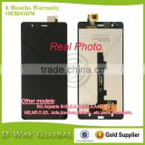 Hot selling Pantalla LCD+Tactil for BQ E5 lcd Mobile phone lcd for BQ Aquaris E5 0760 0858 0759 0982 LCD touch screen display