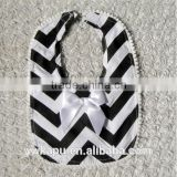 Hot sale lovely cotton wholesale baby bibs