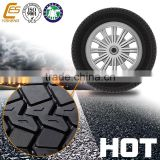 China solid wheel rubber tread for sale