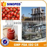 Food tin can making machine production line for tomato paste