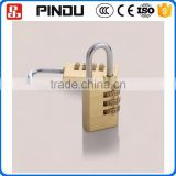 high security mini copper globe brass hardened solid steel dial combination padlock