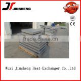 china Aluminum bazing weldin of heat exchanger core supplier / plate&bar type radiator core / oil cooler core