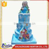 Customize resin cake sculpture for store decor NTRS-080LI