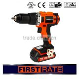 First rate high quality 10mm 13mm li-ion 18V swiss military cordless drill