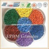 Multipurpose Colorful EPDM Rubber Granule for Running track, Race Track, Kids Playground Surfaces,etc.
