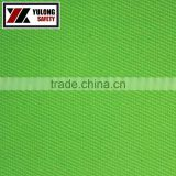 manufacturer wholesale high quality EN20471 fluorescent hi vis twill fabric for high visibility garment