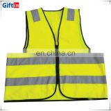 Best Selling High Quality Reflective 4 way stretch polyester fabric Vest