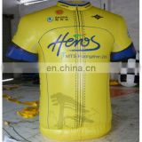 Inflatable advertising Replica/inflatable yellow T-shirt with full digital printing