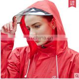 2017 Outdoor Adult Men and Women Fashion Waterproof Raincoat Translucent Frosted Thick Eva Girl Hooded Rain Coat for Women